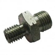 Male x Male Metric M1.5 Pitch x BSPP Hydraulic Adaptor