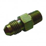 Male x Male NPTF x JIC Hydraulic Adaptor