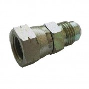 Male x Swivel F JIC x Metrix 1.5 Pitch Hydraulic Adaptor