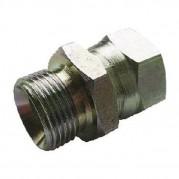 Male x Swivel F BSPP x JIC Hydraulic Adaptor