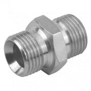 Equal BSPP Male x BSPP Male 60° Cone Adaptor
