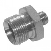 Unequal BSPP Male x BSPP Male 60° Cone Adaptor