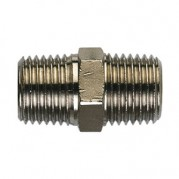 BSPT Equal Connector - Nickel Plated