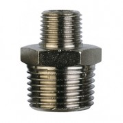BSPT Reducing Connector - Nickel Plated