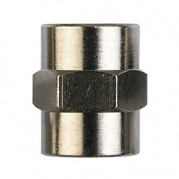 Adaptor Socket - BSPP Female Thread - Nickel Plated
