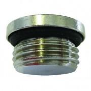 BSPP Allen Key Plug - O Ring - Nickel Plated