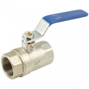 Blue Steel Long Handle Ball Valve - Female x Female BSPP