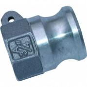 Female Plug - Aluminium Cam & Groove