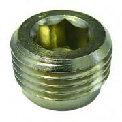 BSPP Allen Key Plug - Nickel Plated