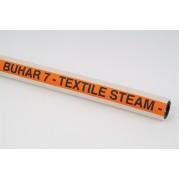 BUHAR 7 Bar White Steam Hose (Non-Marking)