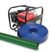Flood Pump Kit with included Layflat Delivery Hose