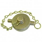 Gunmetal Cap & Chain