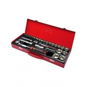 "35 Piece 1/4"" and 1/2"" Socket Set"