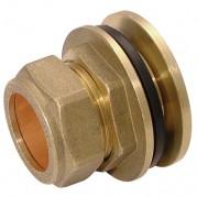 Brass Compression Tank Connectors