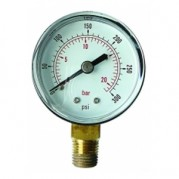 Vacuum Gauge - Bottom Entry Connection