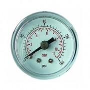 "Pressure Gauge - 1/8"" BSPT x 50mm Dial - Centre Back Connection"