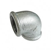 BSPP Equal Elbow - Galvanised
