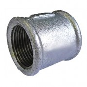 BSPP Equal Socket - Galvanised