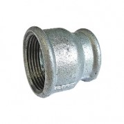 BSPP Concentric Reducing Socket - Galvanised