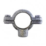 Single M10 Tapping Pipe Ring - Galvanised