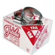 Jubilee Hose Clips (Stainless Steel)