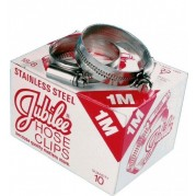 Jubilee Hose Clip, Box of 10 (Stainless Steel)