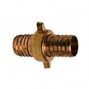 Brass Lugged Fitting - Swivel Hose Joiner