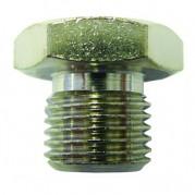 BSPP Hexagonal Plug - Solid - Nickel Plated