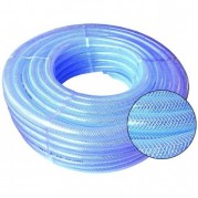 Reinforced Clear PVC Braided Air & Water Hose