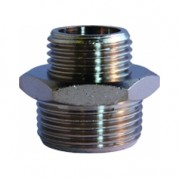 Reducing Connector - BSPP Male Thread - Nickel Plated