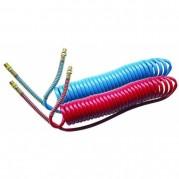Polyurethane Compact Coils - Blue