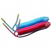 Polyurethane Compact Coils - Red
