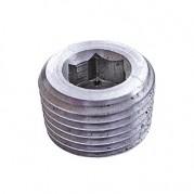 BSPT Allen Key Plug - 316 Stainless Steel