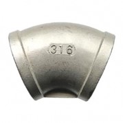 BSPP 45° Equal Elbow - 316 Stainless Steel