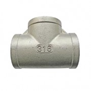 BSPP Equal Tee - 316 Stainless Steel
