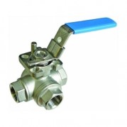 Three Way T Port Ball Valve