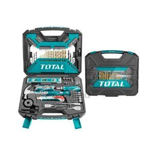Total 120 Piece Tools & Accessories Set