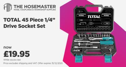 """Promotion on 45 Piece 1/4"""" Drive Socket Sets"""